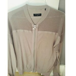 All Saints Sweaters - ALL SAINTS Arden Zip Through Sweater Size Large